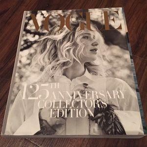 VOGUE 125th Anniversary Collectors Ed Magazine